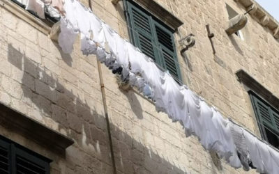 The Art of Laundry in Dubrovnik