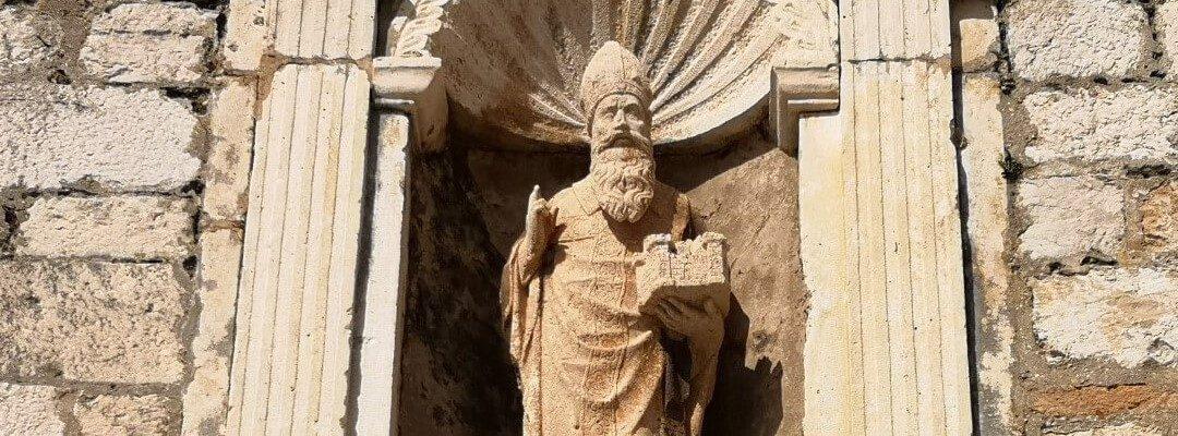 The Patron Saint of Dubrovnik
